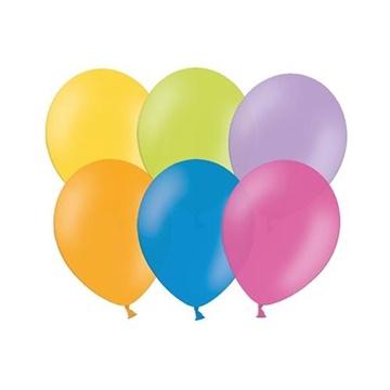Obrázek Balonky 23 cm - mix pastelových barev 100 ks