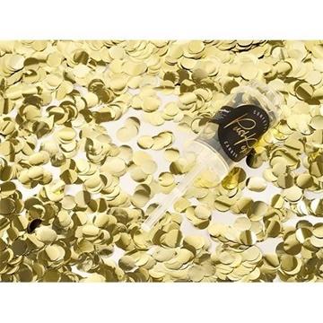 Obrázek Konfety Push pop - zlaté