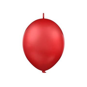 Obrázek Spojovací balonek pastelový červený 30 cm