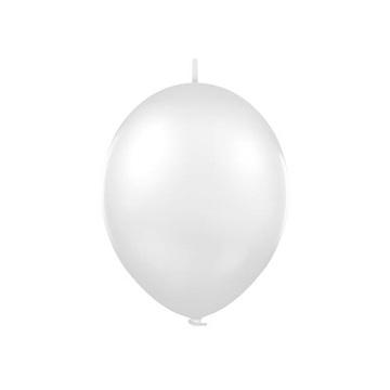 Obrázek Spojovací balonek pastelový bílý 30 cm