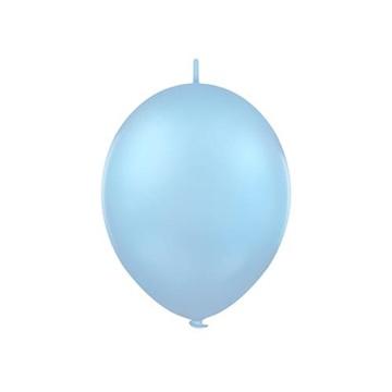 Obrázek Spojovací balonek pastelový světle modrý 30 cm