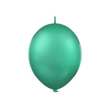 Obrázek Spojovací balonek pastelový tmavě zelený 30 cm