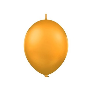 Obrázek Spojovací balonek pastelový oranžový 30 cm