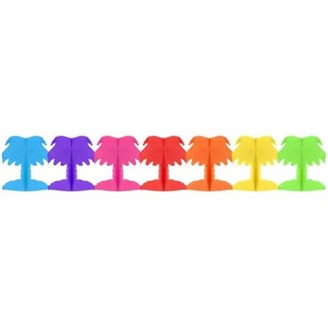 Obrázek Papírová girlanda palmy 300 cm