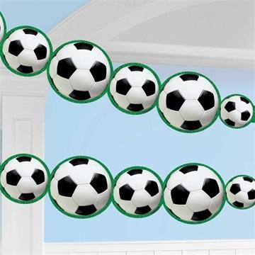 Obrázek Girlanda fotbalové míče 243 cm