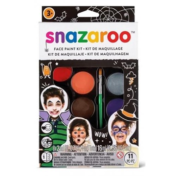 Obrázek Velká sada obličejových barev - Hallowen