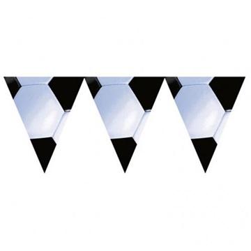 Obrázek Vlaječková girlanda fotbalová 365 cm