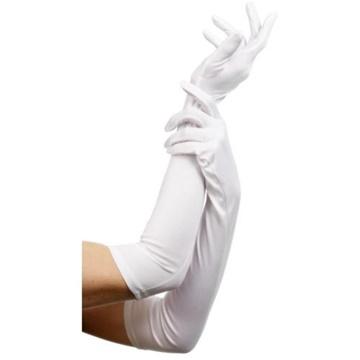 Obrázek Bílé rukavičky - dlouhé
