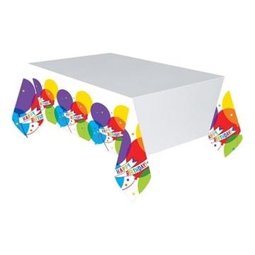 Obrázek Plastový party ubrus Brilliant Balloons 259 x 137 cm