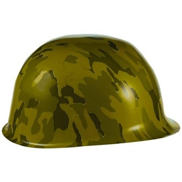 Obrázek Plastová helma Vojenská