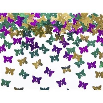 Obrázek Konfety metalické Motýlci 15g