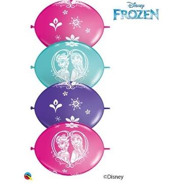 Obrázek Spojovací balonek Frozen 30 cm - 10 ks