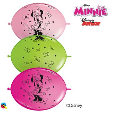 Obrázek Spojovací balonek Minnie 30 cm - 10 ks