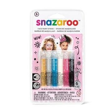 Obrázek Tužky na obličej - 6 barev dívky
