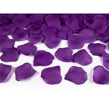 Obrázek Lístky růží tmavě švestkové