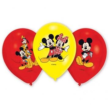 Obrázek Latexové balonky Mickey Mouse 6 ks
