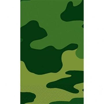 Obrázek Plastový party ubrus Vojenský 120 x 180 cm