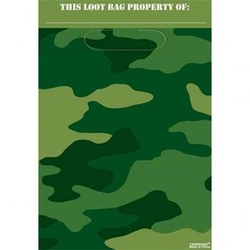 Obrázek Party tašky Vojenské 8 ks