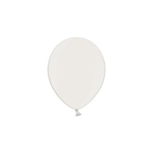 Obrázek z Balonky 23 cm - pastelová bílá 100ks