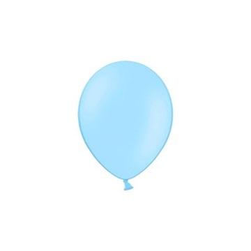 Obrázek Balonky 23 cm - pastelová nebeská modrá 100ks