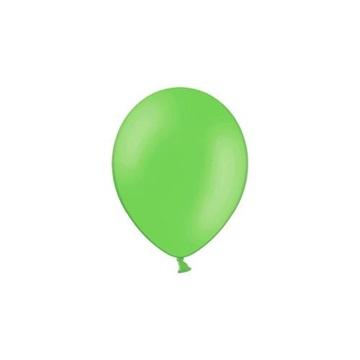 Obrázek Balonky 23 cm - pastelová světle zelená 100ks