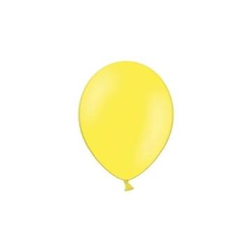 Obrázek Balonky 23 cm - pastelová žlutá 100ks