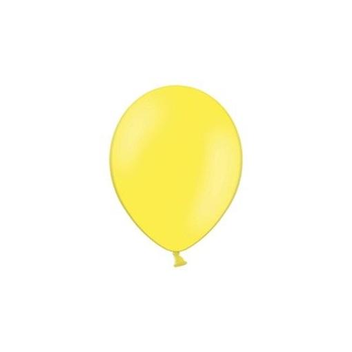 Obrázek z Balonky 23 cm - pastelová žlutá 100ks