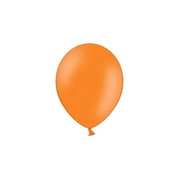 Obrázek Balonky 23 cm - pastelová oranžová 100ks