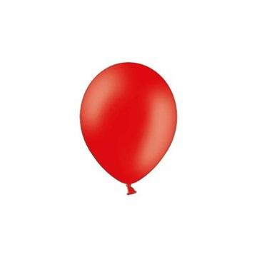 Obrázek Balonky 23 cm - pastelová červená 100ks