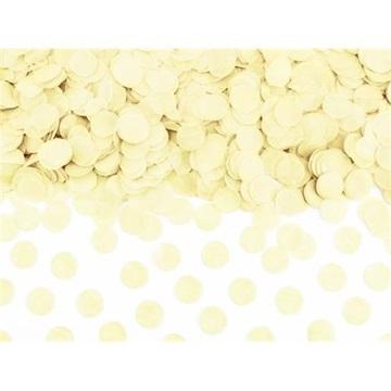 Obrázek Papírové konfety kolečka vanilkové 15 g