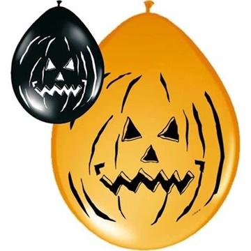 Obrázek Latexové balonky Halloween horor dýně 8 ks