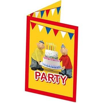 Obrázek Party pozvánky Pat a Mat 8 ks