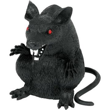 Obrázek Halloweenská dekorace obří krysa 15 cm