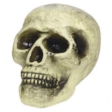 Obrázek Halloweenská dekorace lebka