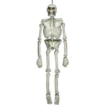 Obrázek Halloweenská dekorace lidská kostra 137 cm