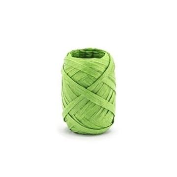 Obrázek Stuha raffia zelená 5 mm x 10 m