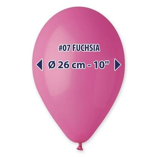 Obrázek z Balonek  tmavě růžový 26 cm