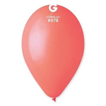 Obrázek Balonek korálově červený 30 cm