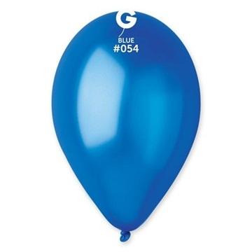 Obrázek Metalický balonek tmavě modrý 28 cm