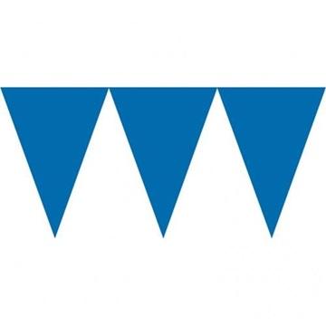 Obrázek Vlaječková girlanda modrá 450 cm