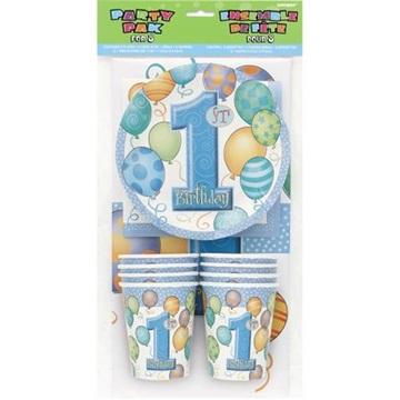 Obrázek Party sada první narozeniny - modrá