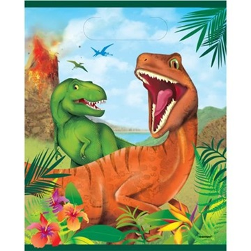 Obrázek Party tašky dinosaur 8 ks