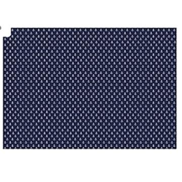 Obrázek Balící papír modrý - kotvy 68 x 100 cm