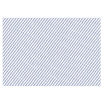 Obrázek Balící papír světle modré proužky 68 x 100 cm