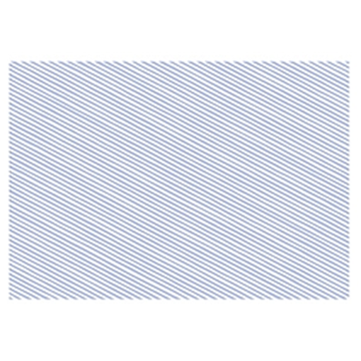 Obrázek z Balící papír světle modré proužky 68 x 100 cm
