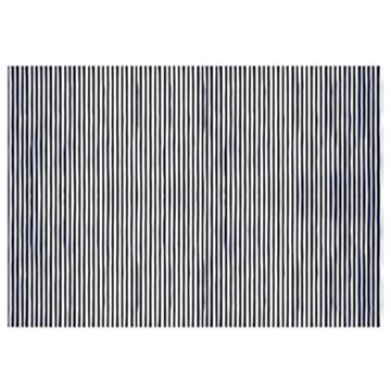 Obrázek Balící papír tmavě modré proužky 68 x 100 cm