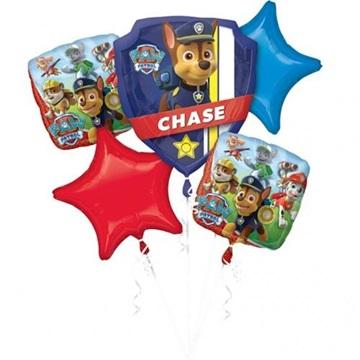 Obrázek Sada foliových balonků Tlapková Patrola - 5 ks
