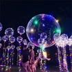 Obrázek z Balonek s LED světelným řetězem 45cm