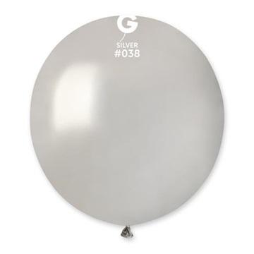 Obrázek Balonek stříbrný 48 cm