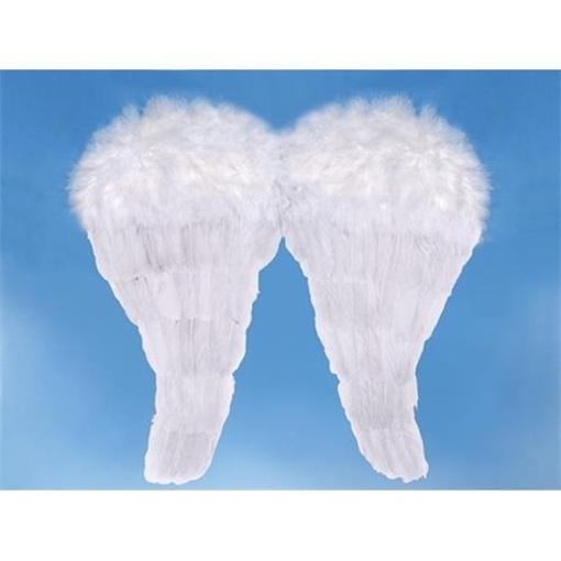 Obrázek z Andělská křídla bílá - střední 52 x 45 cm